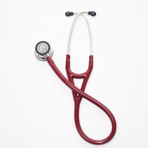 Estetoscopio Cardiology IV, Acabado Espejo, con tubo color Burdeo, 69 cm,modelo 6170