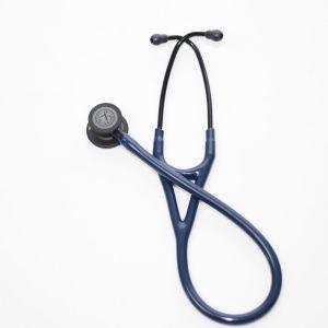 Estetoscopio Cardiology IV, Acabado Negro, con tubo color Azul Marino, 69 cm,modelo 6168