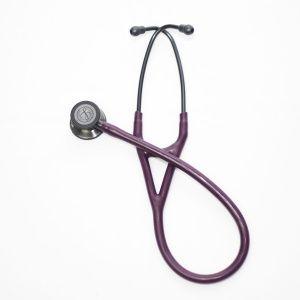 Estetoscopio Cardiology IV, Acabado Smoke, con tubo color Ciruela, 69 cm,modelo 6166