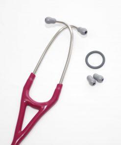 Estetoscopio Cardiology IV, Acabado Standard, con tubo de color Frambuesa, 69 cm, modelo 6158