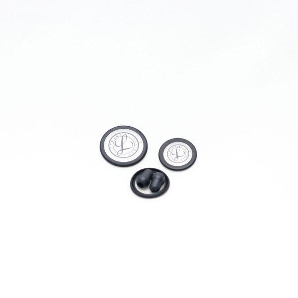 Kit repuestos para estetoscopio Classic III y Cardiology IV, negro, 40016