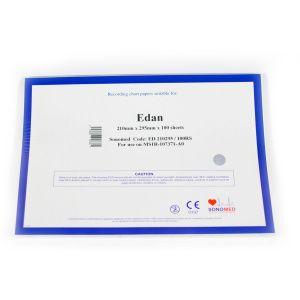 PAPEL PARA ECG EDAN 210MMX295MMX100SH ED210295/100RS