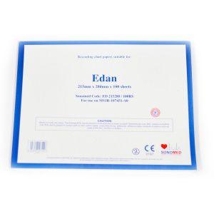 PAPEL PARA ECG EDAN 215MMX280MMX100SH ED215280/100RS
