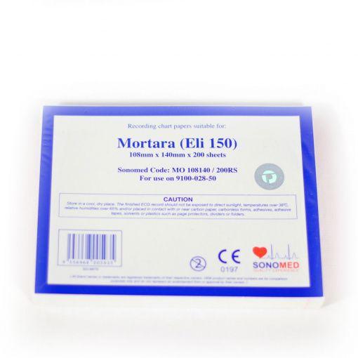 PAPEL PARA ECG ELI150 108MMX140MMX200SH MO108140/200RS