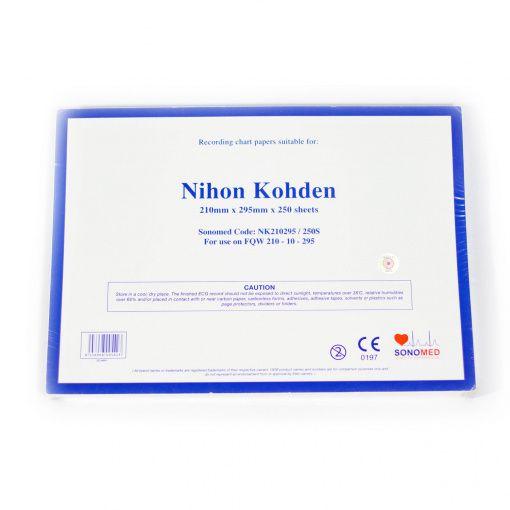 PAPEL PARA ECG NIHON KOHDEN 210MMX295MMX250SH NK210295