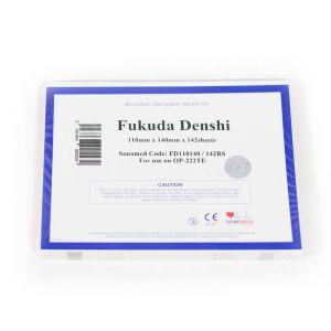 PAPEL PARA FUKUDA DENSHI 110MMX140MMX142RS - FD110140/142RS