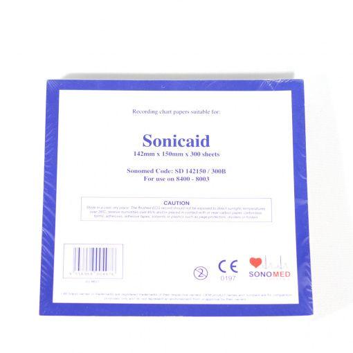 PAPEL PARA MONITOR SONICAID 142MMX150MMX300SH SD142150/300B