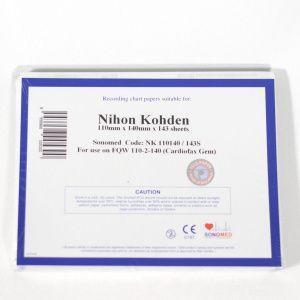 PAPEL PARA NIHON KOHDEN 110MMX140MMX143SH - TIPO Z NK110140/143S